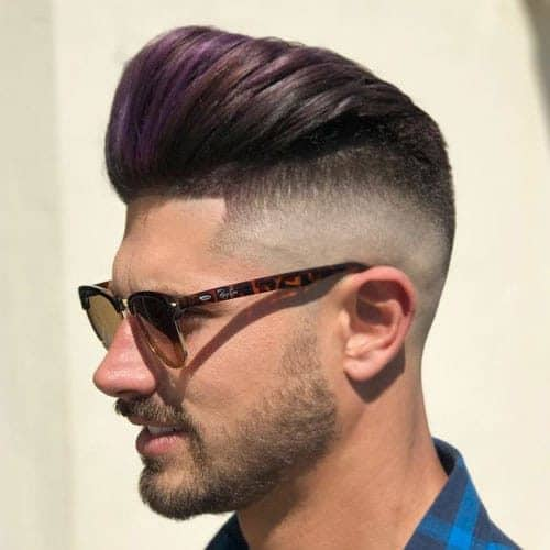The ultramodern Pompadour Fade is a hot fashion trend