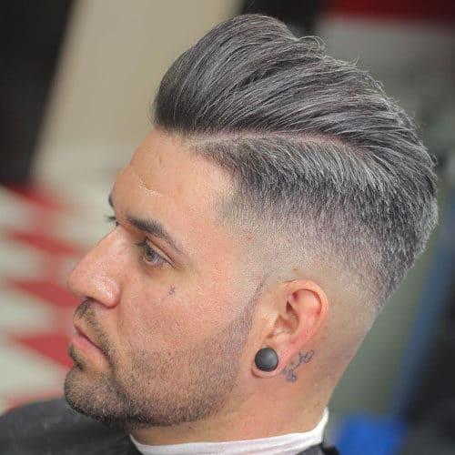 Groomed Stubble Beard with mid taper