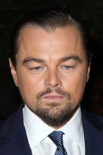 Leonardo DiCaprio Goatee Beard with Curled Ducktail
