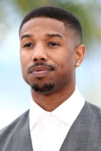 Michael B Jordan Buzz Cut