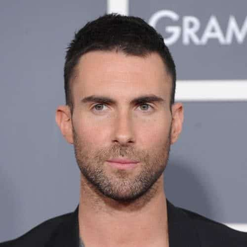 Adam Levine with Butch Haircut
