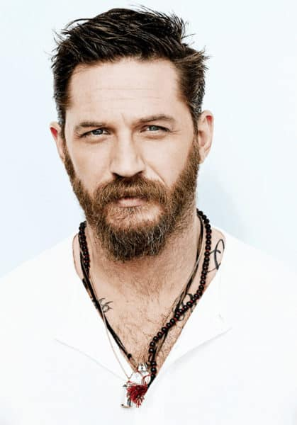 Tom Hardy Longer Haircut and Beard