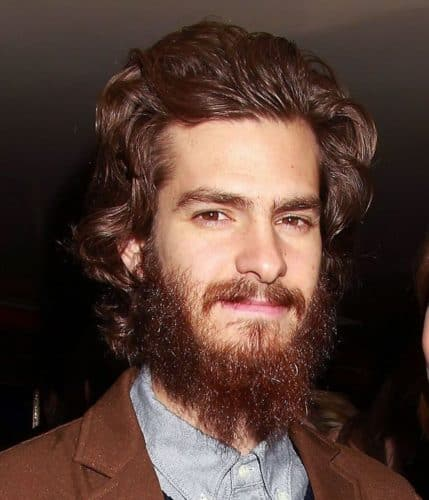 Andrew Garfield, bad beard and downright ugly.