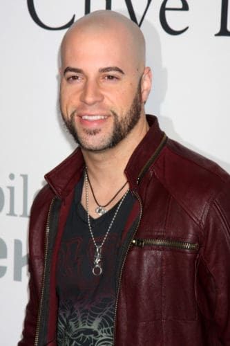 Bald Recording Artist Chris Daughtry