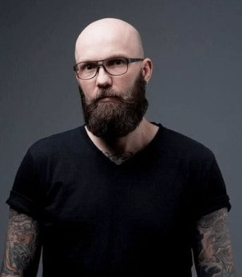 Brow Bar Eyeglasses - good with a beard and shaved head