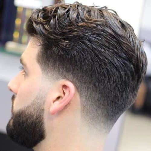 Basic Taper with a low fade Haircut