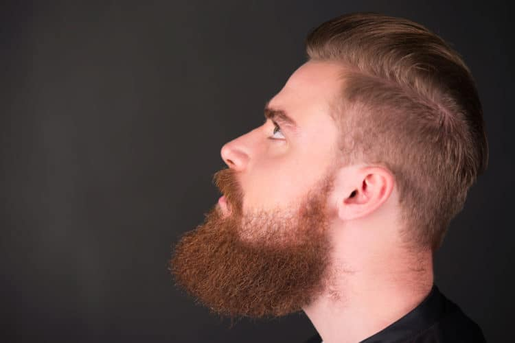 Trim Your Beard Neckline Guide