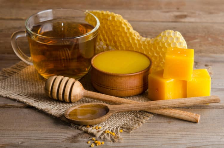 beeswax in beard balms