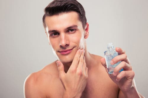 A quality aftershave as part of your shave routine is important for healthy skin.
