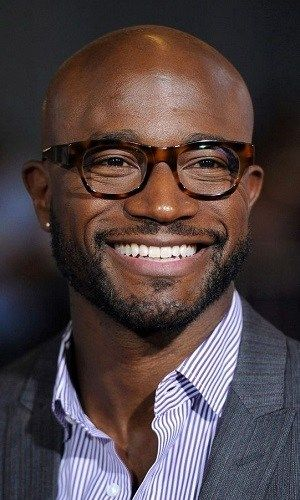 Taye Diggs sporting thick Tortoise Shell Frames