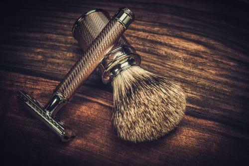Safety razor for shaving your head