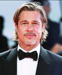 Brad Pitt current gray beard