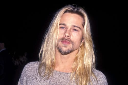 Blonde Brad eith circle goatee