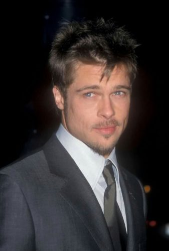 Young Brad Pitt with Van Dyke Beard