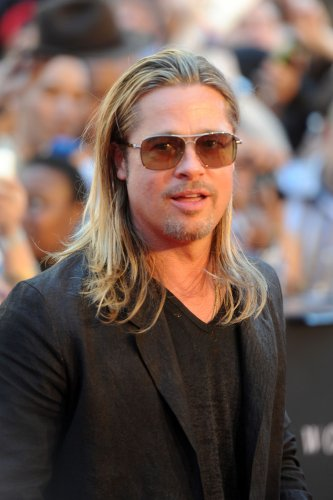 older brad pitt long hair