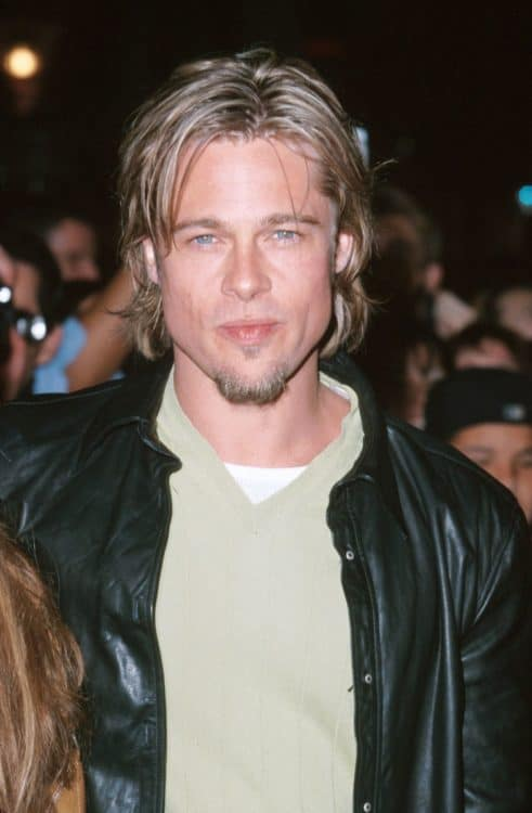Brad Pitt Chin Hair and Soul Patch