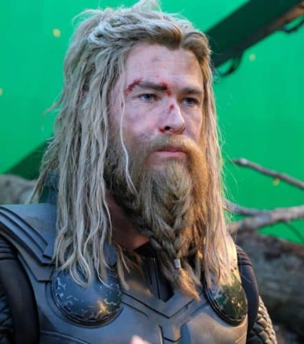 single beard braid thor