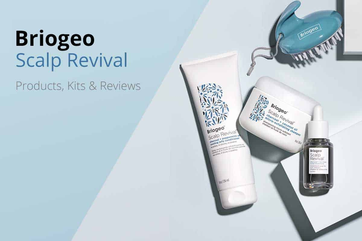 Briogeo Scalp Revival Hair Products and Treatments
