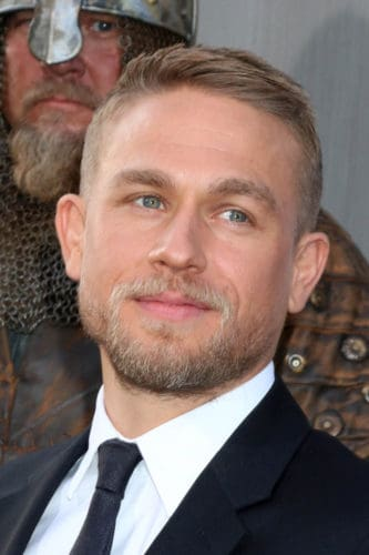 Charlie Hunnam extended goatee