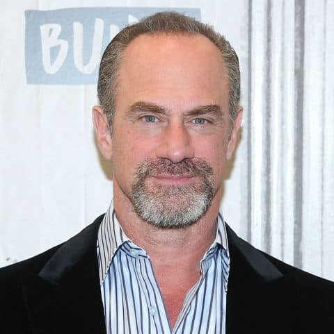 Chris Meloni hairline fully receded.