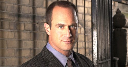 Chris Meloni rpartial eceding hairline
