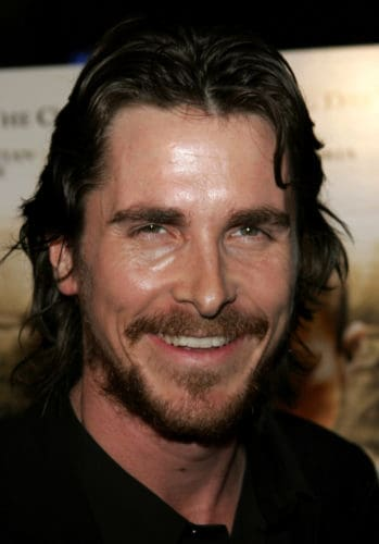 Christian Bale heavy scruffy beard