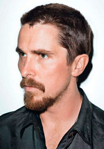 Christian Bale Extended Goatee