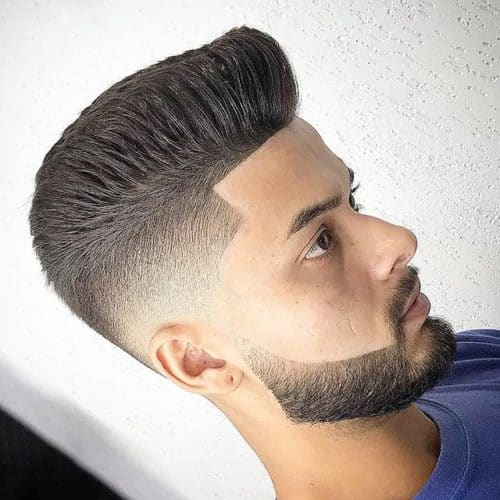 Short Faded Beard Styles for a trendy look.