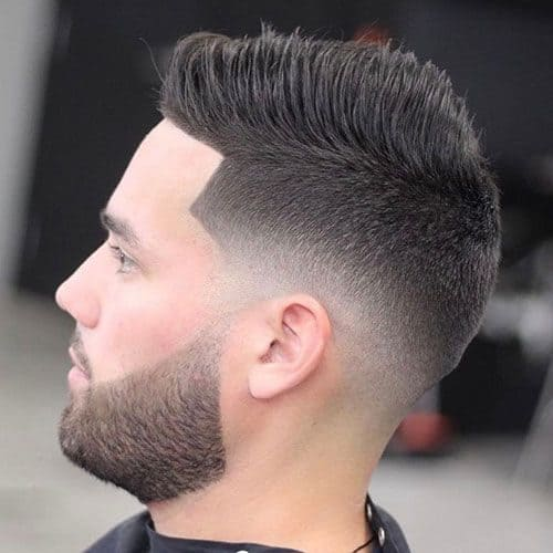 Low Fade hairstyle for a trendy look.
