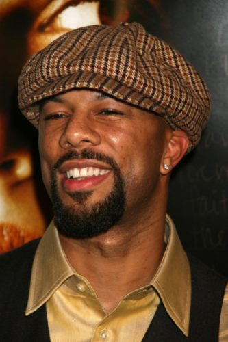Common the rapper often sports a circle goatee.