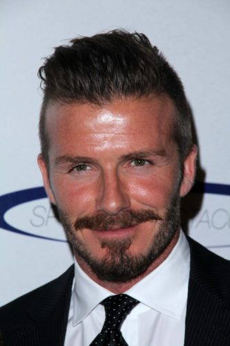 David Beckham Van Dyke Beard
