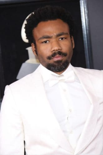 Donald Glover Mustache Style