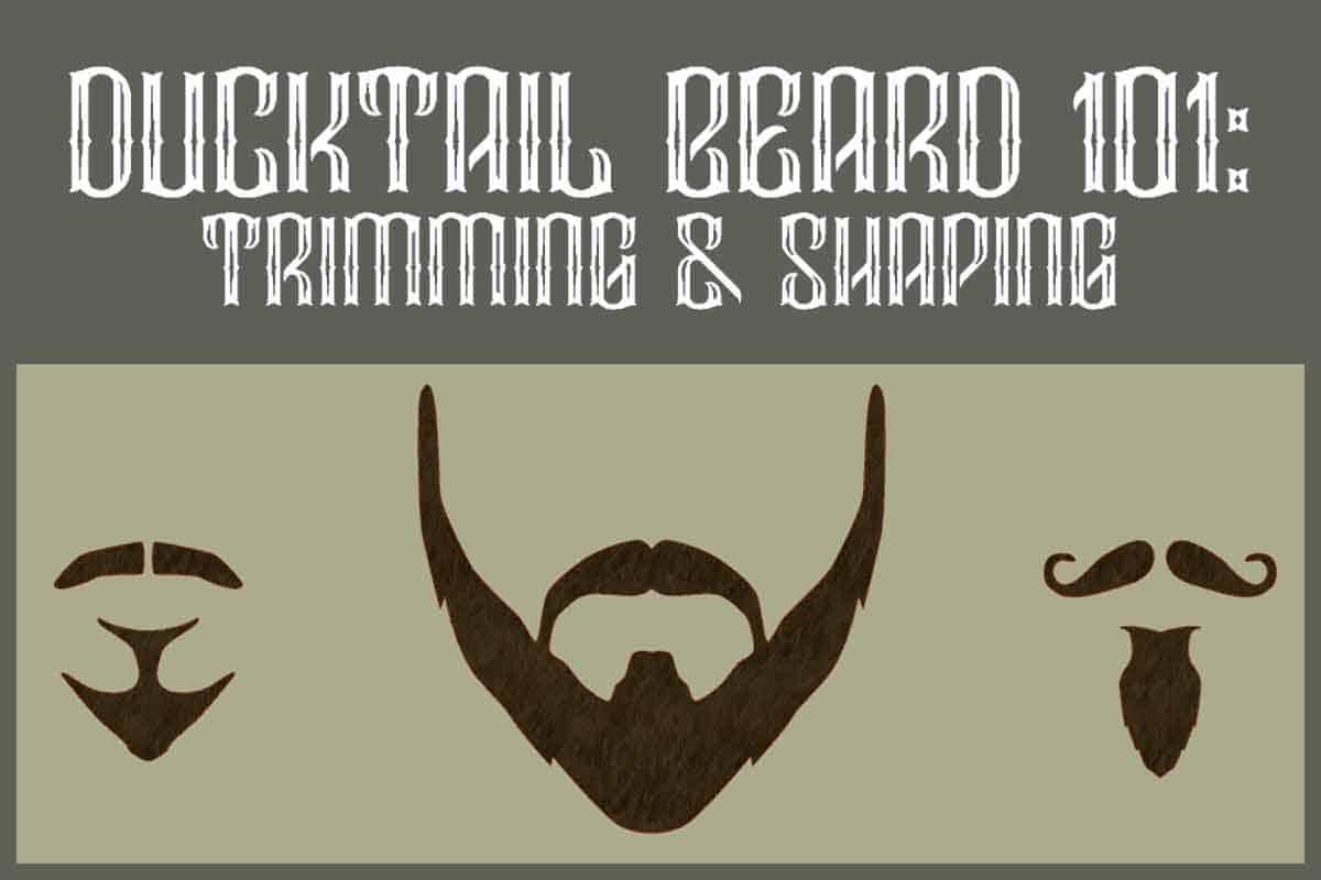 Ducktail Beard Shape