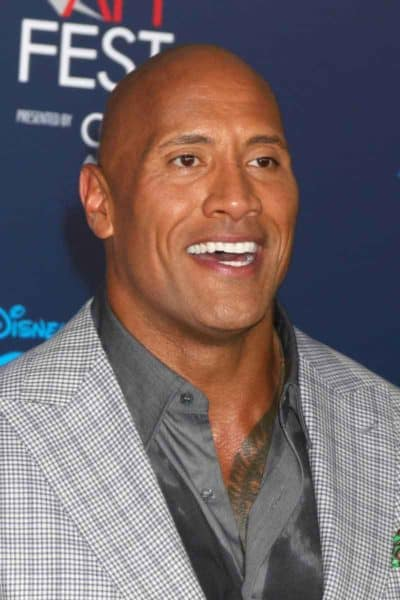 The Rock Bald hairstyle