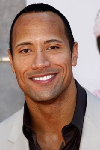 Dwayne The Rock Johnson with Hair