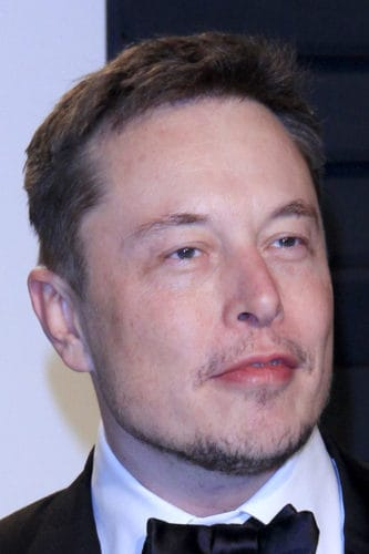 Elon Musk after hair restoration.