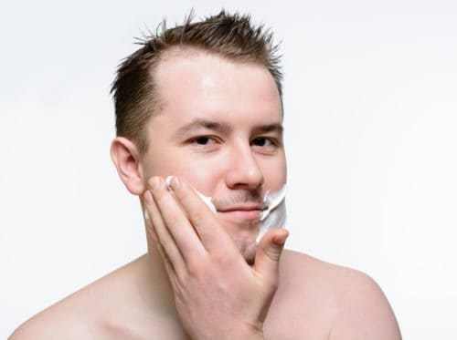 Exfoliate before or after shaving is an important for grooming.
