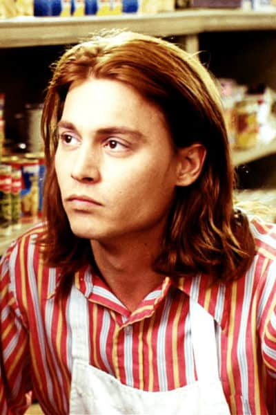 What's Eating Gilbert Grape long hairstyle