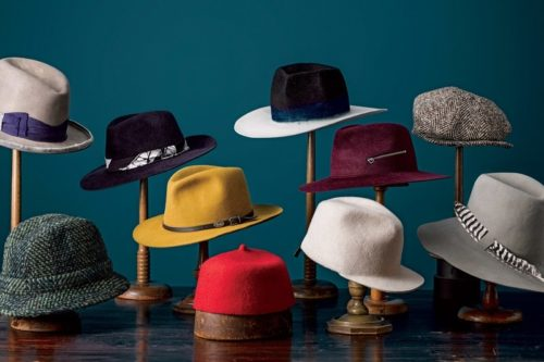 Hats to enhance your balding look
