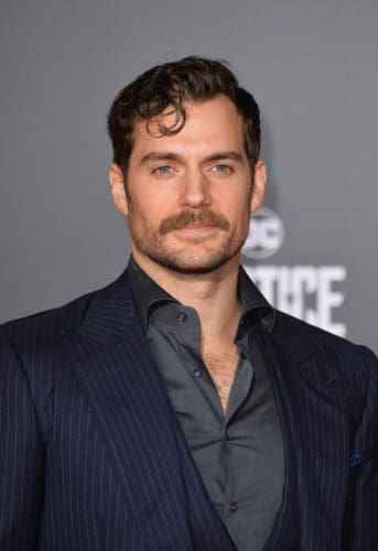 Henry Cavill knows how to grow a mustache