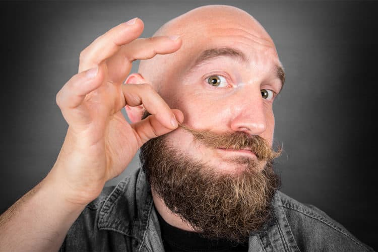 how to trim a mustache