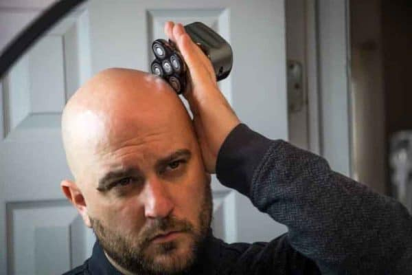 The Skull Shaver is an electric head shaver with a unique design and purpose