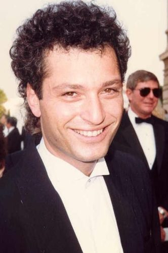 Howie Mandel with his Curly Hair