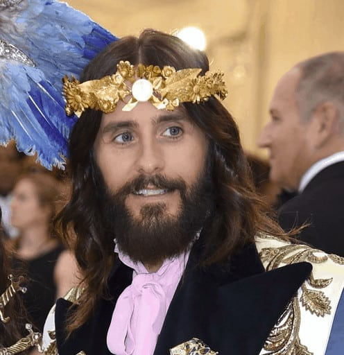 Using a good beard oil like Jared Leto can get your beard soft and shiny.