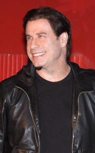 John Travolta's bad chin beard