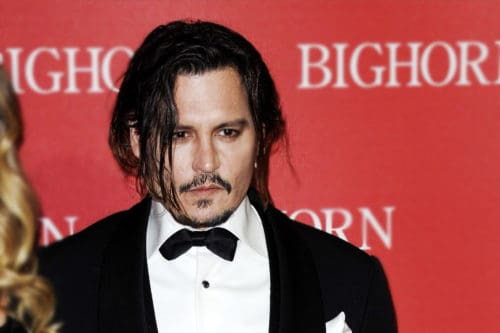 Getting Johnny Depp's hairstyle is easy with the right styling products.