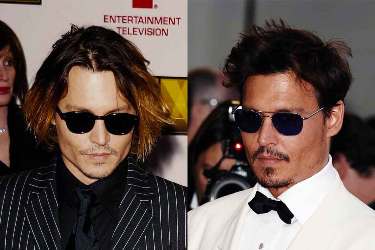 Johnny Depp Hairstyles Best Style Guide Photos Tips Bald Beards