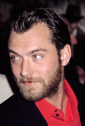 Jude Law Grows Out Sideburns