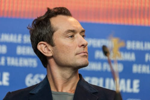 Jude Law Short Sideburns