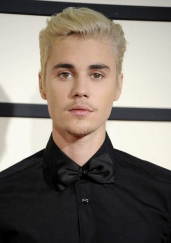 Justin Bieber bad facial hair